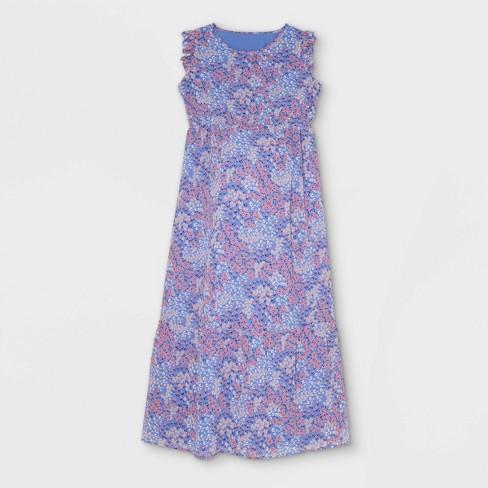 Ruffle Cap Sleeve Woven Maternity Dress - Isabel Maternity by Ingrid & Isabel™ - image 1 of 2