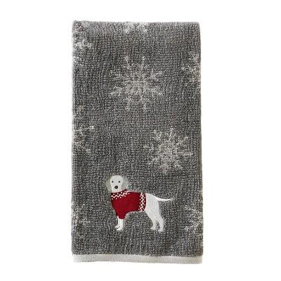Vern Yip Fa La La Dogs Bath Towel Gray - SKL Home