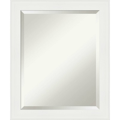 Vanity White Framed Bathroom Vanity Wall Mirror - Amanti Art