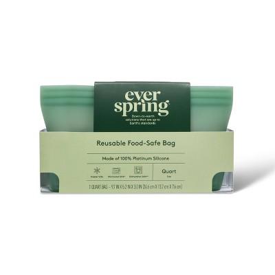 Reusable Silicone Quart Bag - Everspring™