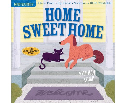 Home Sweet Home -  (Indestructibles) (Paperback) - image 1 of 1
