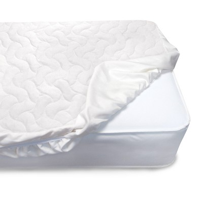 Serta Sertapedic Crib Mattress Pad Cover - White