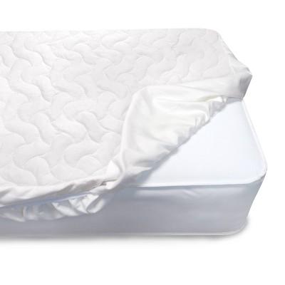 Serta Sertapedic Crib Mattress Pad Cover - White