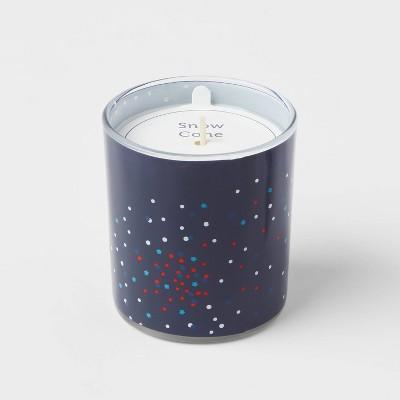 5.5oz Americana Glass Jar Snow Cones Candle - Sun Squad™