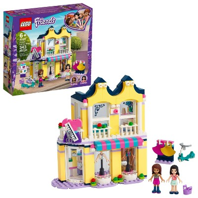 LEGO Friends Emma's Fashion Shop Building Toy for Kids Comes with Fashion Designer Mini-Dolls 41427