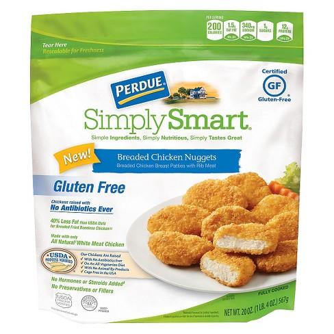 Perdue Simply Smart Gluten Free Breaded Chicken Nuggets -20oz - image 1 of 1