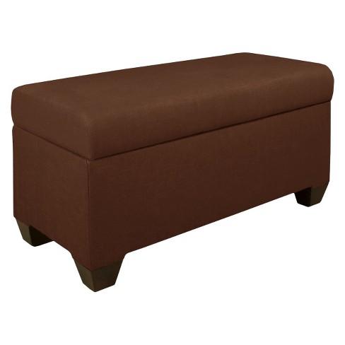 Skyline Furniture Custom Upholstered Storage Bench