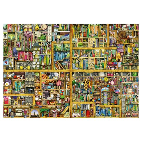 Magical Bookcase 18000pc Puzzle Target