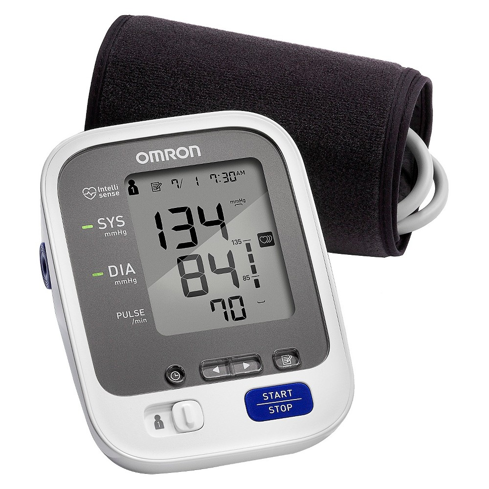 Omron 7 Series Upper Arm Blood Pressure Monitor with Cuff - Fits...