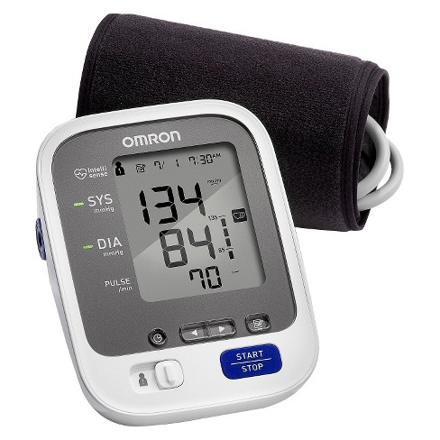 Omron 7 Series Upper Arm Blood Pressure Monitor with Cuff - Fits Standard and Large Arms - image 1 of 3