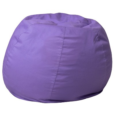 Flash Furniture Small Bean Bag Chair for Kids and Teens