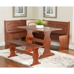 Chelsea Nook Dining Table Set - Linon