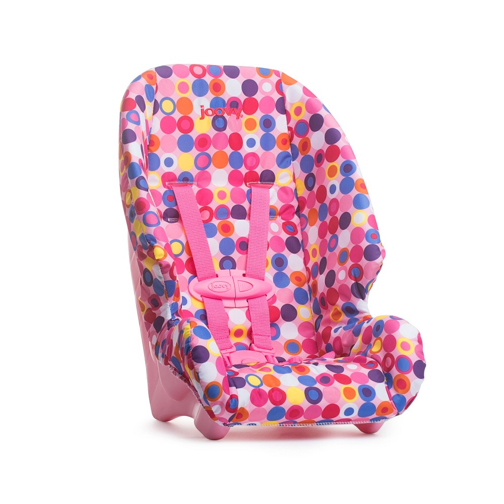 Joovy Baby Doll Booster Seat - Pink Dot