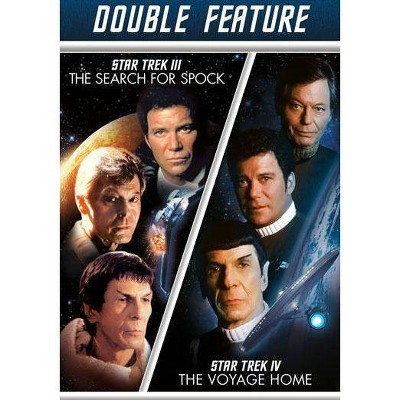Star Trek III: The Search For Spock / Star Trek IV: The Voyage Home (DVD)(2013)