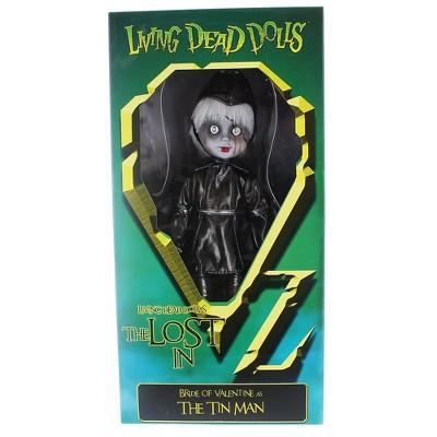 Mezco Toyz Mezco Living Dead Dolls The Lost In Oz Bride of Valentine As The Tin Man Doll