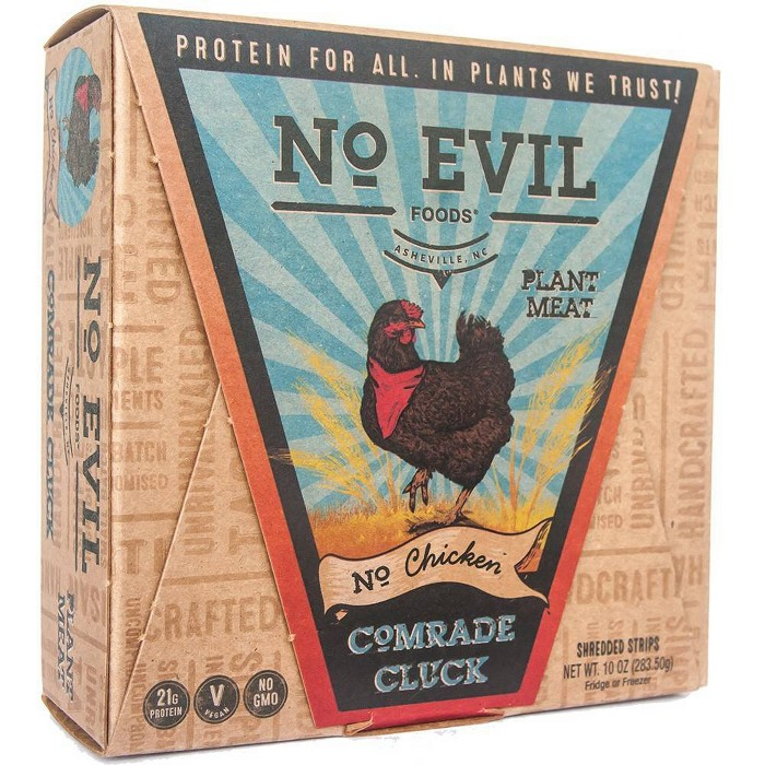 No Evil Foods Comrade Cluck Meatless Chicken Strips - 10oz - image 1 of 5