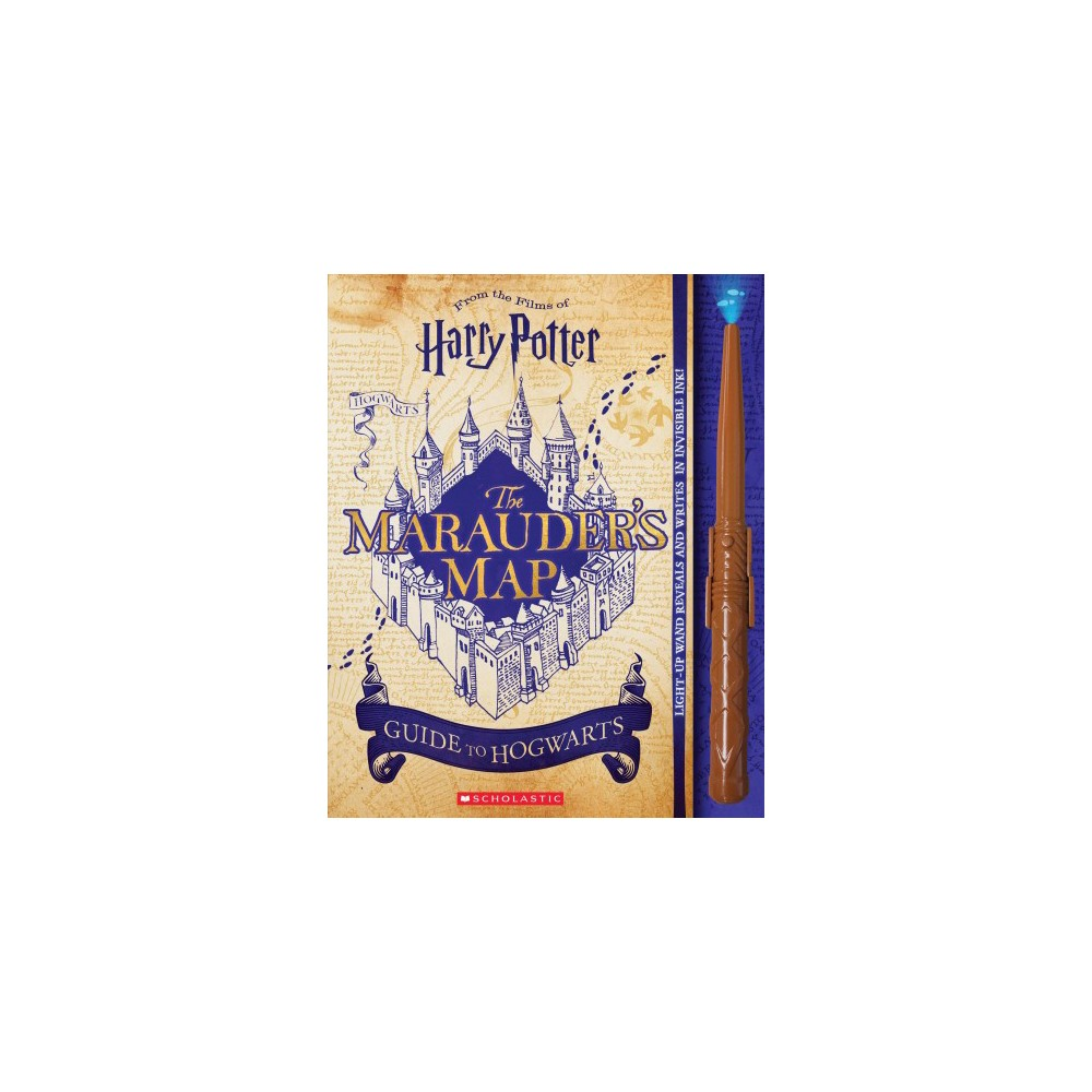 Marauder's Map Guide to Hogwarts - (Harry Potter) by Erinn Pascal (Paperback)