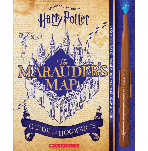Marauder's Map Guide to Hogwarts -  (Harry Potter) by Erinn Pascal (Paperback) - image 1 of 1