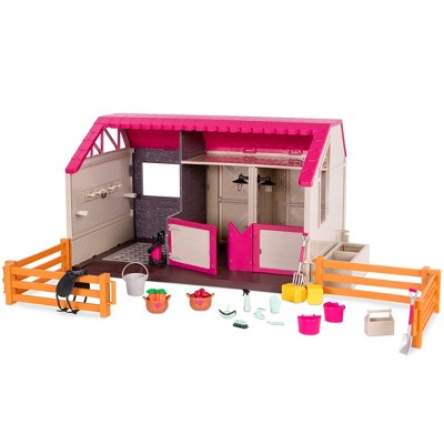 Lori Horse Haven - Barn & Stable for 6-inch Mini Dolls