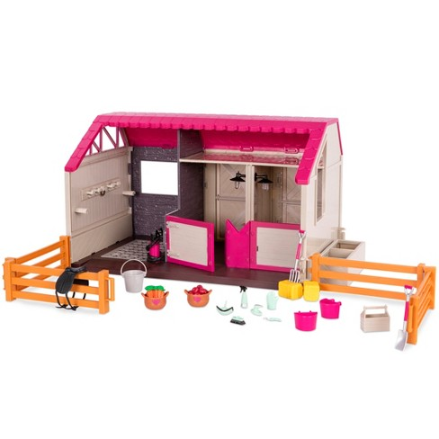 Lori Horse Haven - Barn & Stable for 6-inch Mini Dolls - image 1 of 4