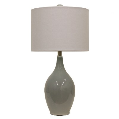 """27"""" Anabelle Ceramic Table Lamp French Blue - Decor Therapy"""