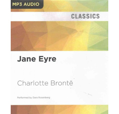 Jane Eyre (MP3-CD) (Charlotte Bronte) - image 1 of 1
