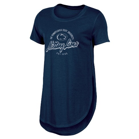 85049efc Penn State Nittany Lions Women's Heathered Crew Neck Tunic T-Shirt ...