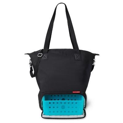 Skip Hop Tray Chic Dry & Store Pump Bag - Black