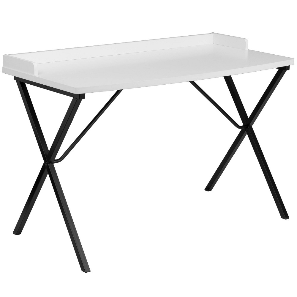 Image of White Computer Desk - Flash Furniture
