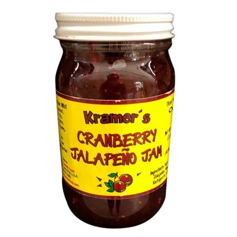 Kramer's Cranberry Jalapeno Jam - 8 fl oz Jar - image 1 of 1