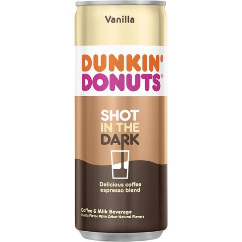 Dunkin Donuts Shot In The Dark Vanilla - 8.1 fl oz Can - image 1 of 3
