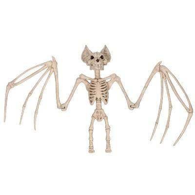"""Halloween Skeleton Bat Large 36"""""""
