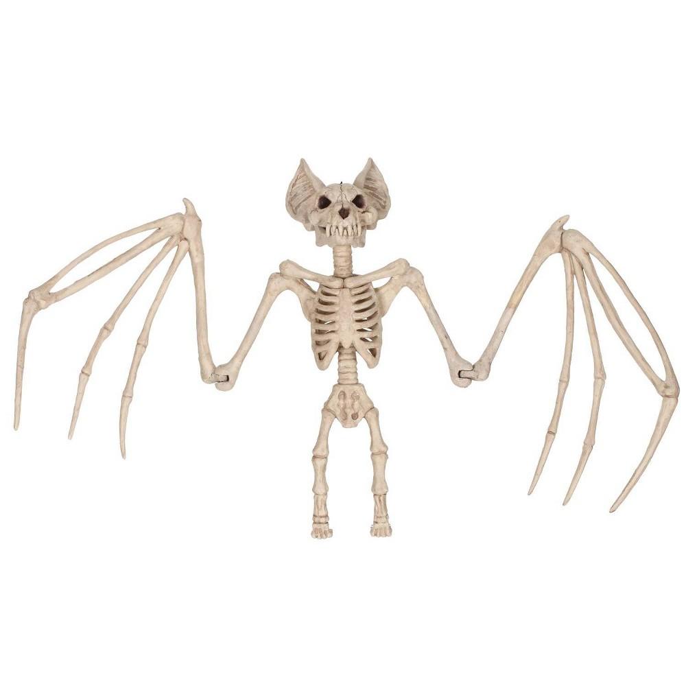 Image of Halloween Skeleton Bat Large 36 In