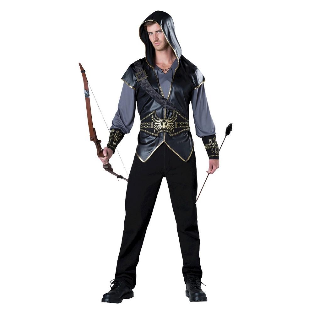 Image of Halloween Men's Hooded HuntSan Costume XL(46-48), MultiColored