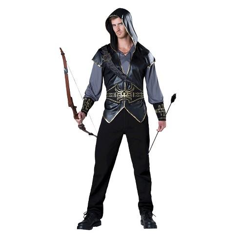 Men's Hooded HuntSan Costume - image 1 of 1