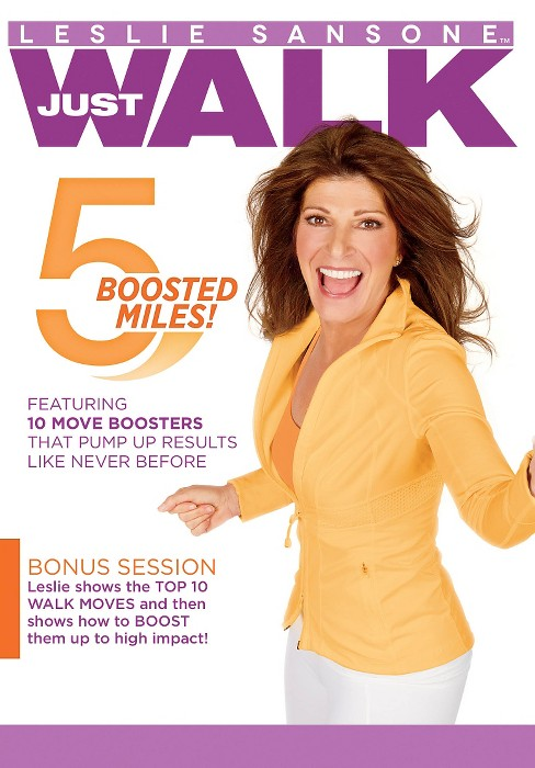 Leslie sansone:5 boosted miles (DVD) - image 1 of 1