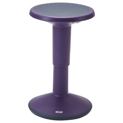 ECR4Kids SitWell Height-Adjustable Wobble Stool - Active Flexible Seating Chair for Kids and Adults - School and Office