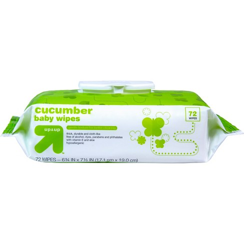 Cucumber Baby Wipes - 72ct - Up&Up™ - image 1 of 3