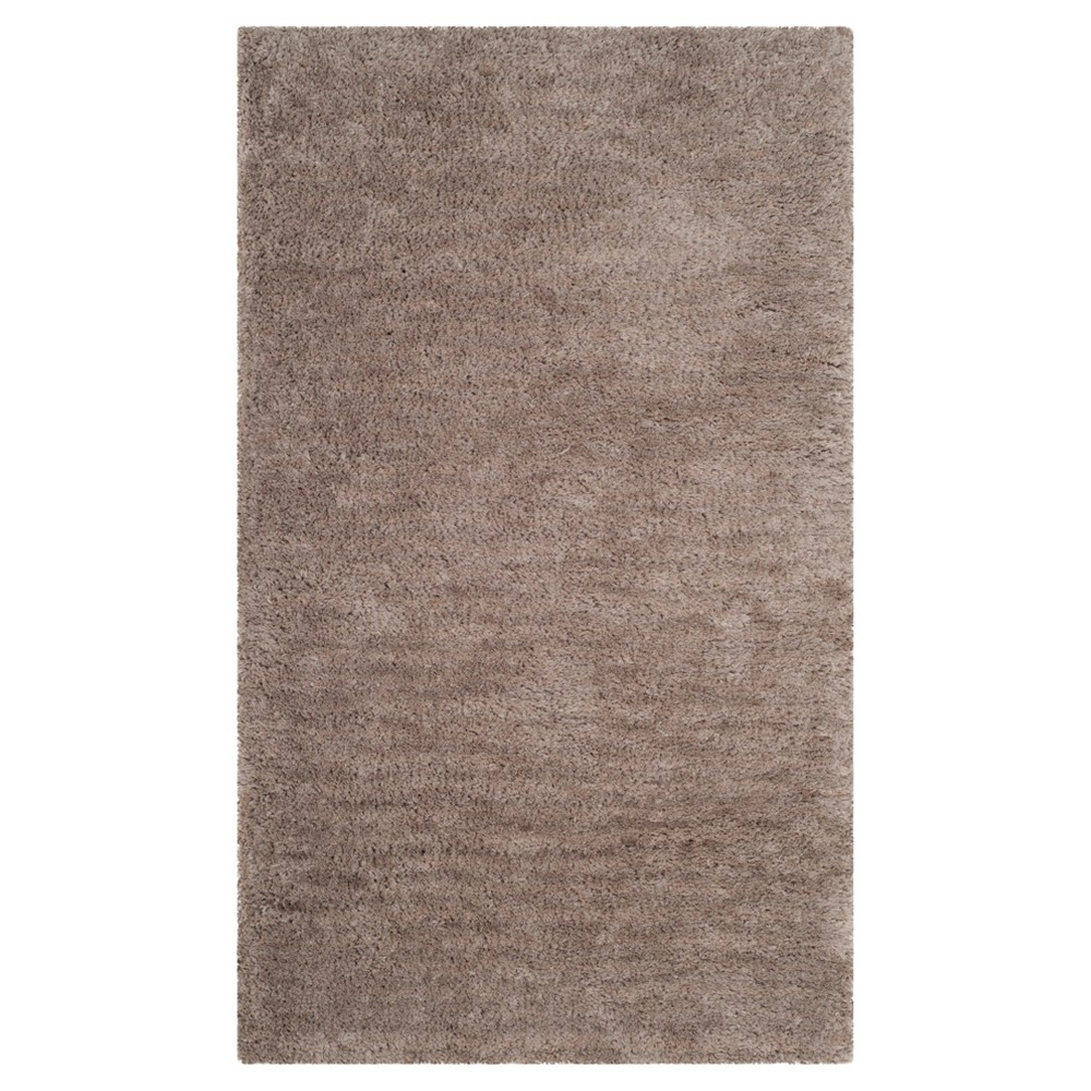 Silver Solid Tufted Accent Rug - (3'x5') - Safavieh