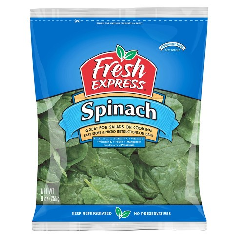 Fresh Express Spinach - 9oz - image 1 of 1