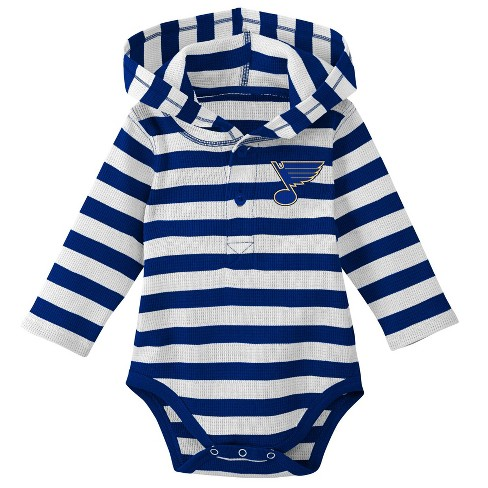NHL St. Louis Blues Boys  Newborn Infant Sleeper Bodysuit   Target f71746cc6