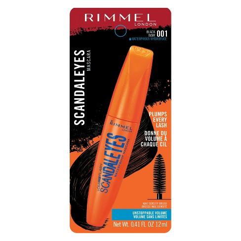 47744b9f682 Rimmel ScandalEyes Volume Flash Mascara Waterproof Black : Target