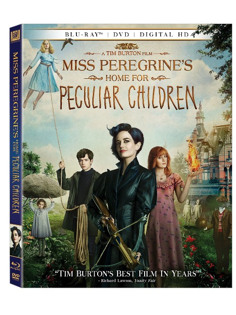Miss Peregrine's Home For Peculiar Children (Blu-ray + DVD + Digital) - image 1 of 1