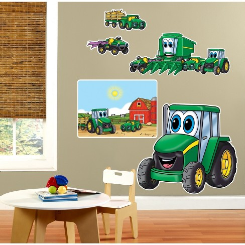 BuySeasons John Deere Johnny Tractor 1st Giant Wall Decals - image 1 of 1