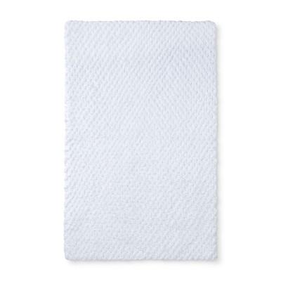 34 x20  Tufted Accent Bath Rug White - Fieldcrest®