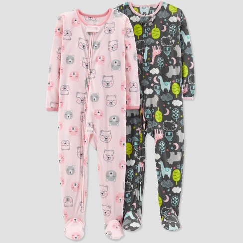 634ae9bb0 Baby Girls  Bear Pajama Set - Just One You™ Made by Carter s® Pink ...