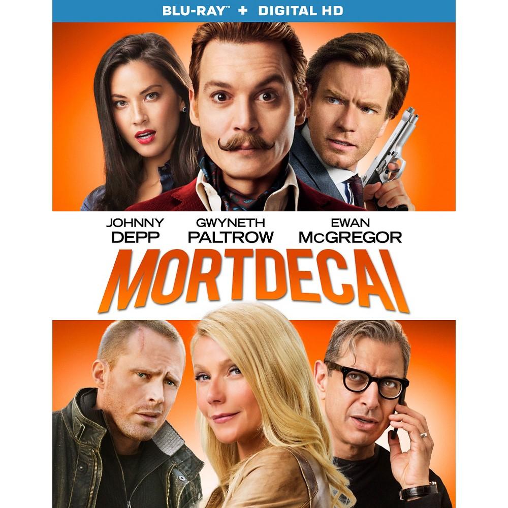 Mortdecai (Blu-ray), Movies