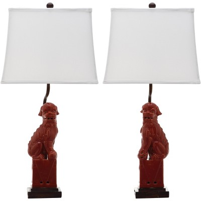 Foo Dog Table Lamp (Set of 2)  - Safavieh
