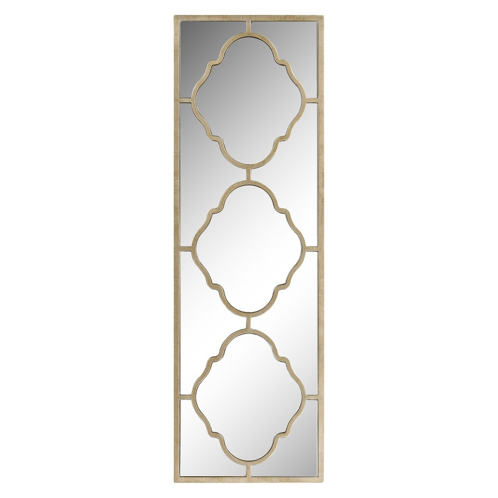 Rectangle Suharo Decorative Wall Mirror Gold - Surya