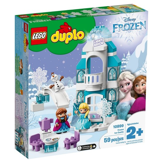 LEGO DUPLO Princess Frozen Ice Castle 10899 Toy Castle Building Set with Frozen Characters image number null